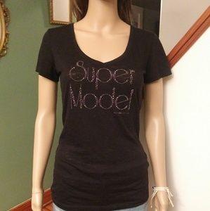 Victoria's secret Super Model Tee shirt Sz- S